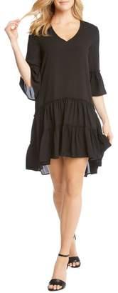 Karen Kane Tiered Ruffle Dress