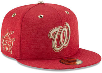 separation shoes 9acb7 7590c New Era Boys  Washington Nationals 2017 All Star Game Patch 59FIFTY Fitted  Cap