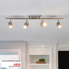 4-flammige LED-Deckenleuchte Morea