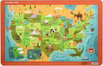 Crocodile Creek Placemat - USA Map [Toy]