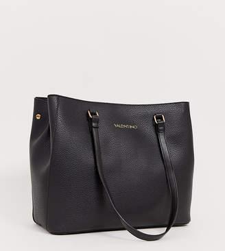 280b55e54628 Mario Valentino Valentino By Valentino by tumbled black soft tote bag in  black