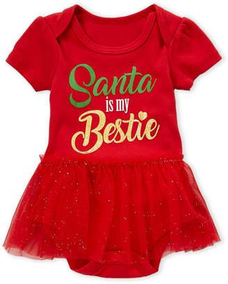 Rashti (Newborn/Infant Girls) Santa Bestie Tutu Bodysuit