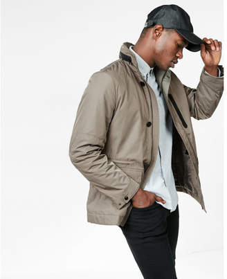 Express military tech jacket