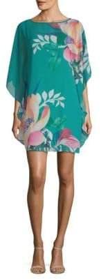 Trina Turk Anissa Bateau Neck Shift Dress