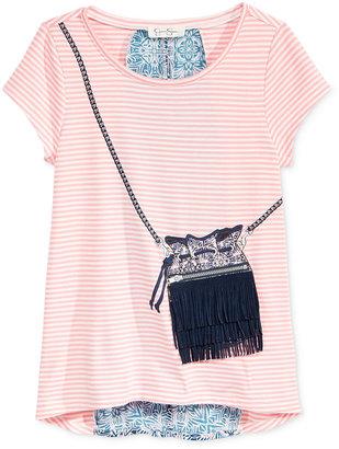 Jessica Simpson Nora Gypsy-Fringe Purse T-Shirt, Big Girls (7-16) $34.50 thestylecure.com