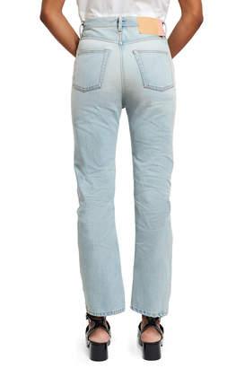 Acne Studios Log Light Blue Jeans