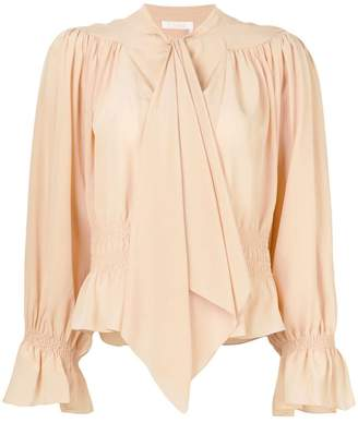 Chloé draped blouse