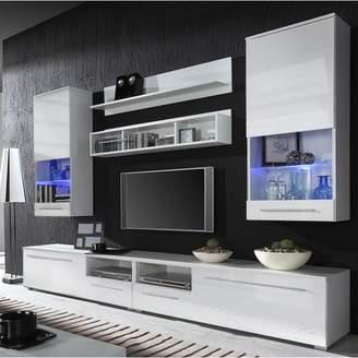 """Orren Ellis Jorah Entertainment Center for TVs up to 75"""""""