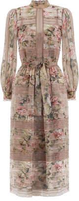 Fleeting Pintuck Dress
