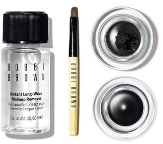 Bobbi Brown Double Black Long-Wear Gel Eyeliner Set