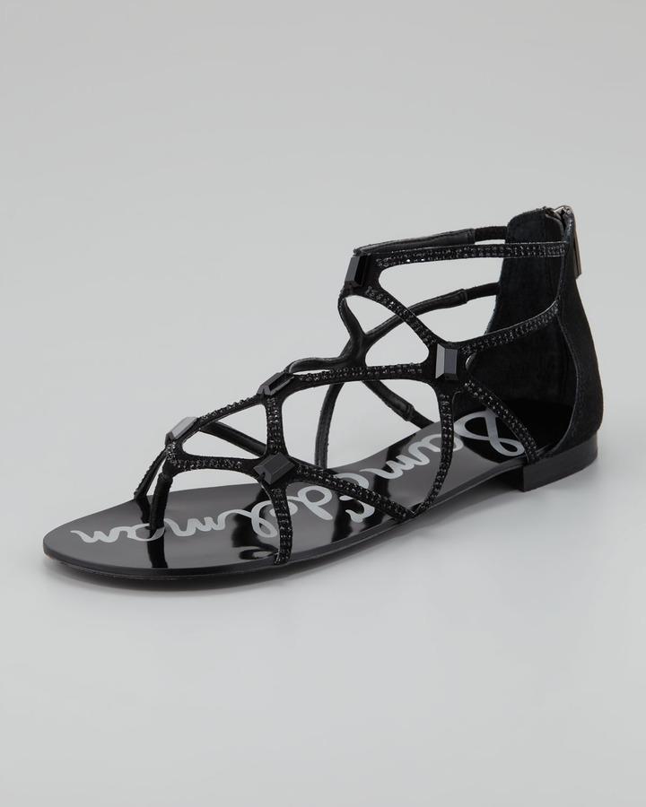 Sam Edelman Tamara Sequined Strappy Sandal