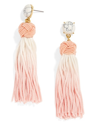 Sarina Tassel Earrings $38 thestylecure.com