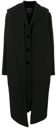 Marc Jacobs Notch-Collar coat
