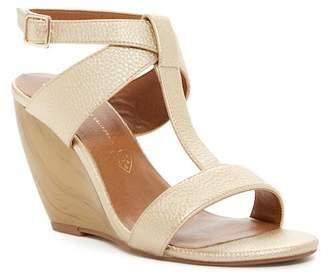 BC Footwear Thrilled Vegan Wedge Sandal
