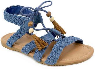 Olivia Miller Ghillie Toddler & Youth Sandal - Girl's