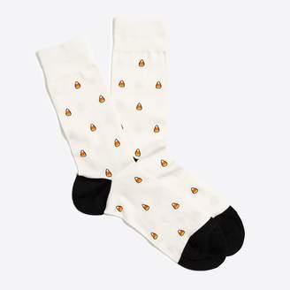 J.Crew Candy corn socks