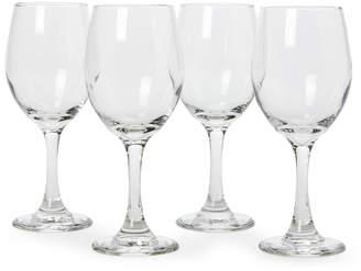 Libbey Set of 4 Madison White Wine Glasses