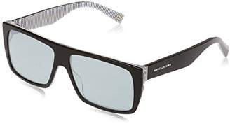 Marc Jacobs Unisex Adults' Marc ICON 096/S T4 M4P Sunglasses, (Black Stripe/Gy Grey)