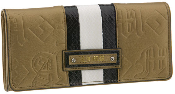 L.A.M.B. Embossed Clutch Wallet