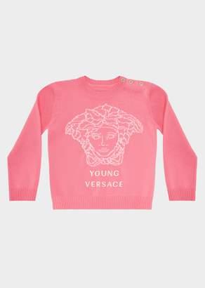 Versace Medusa Wool Sweater