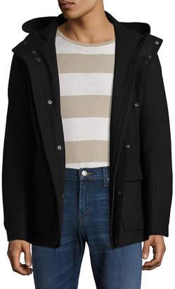 Cole Haan Solid Wool Coat