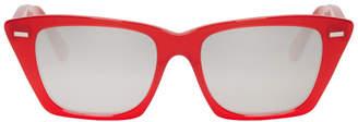 Acne Studios Red Ingridh Sunglasses