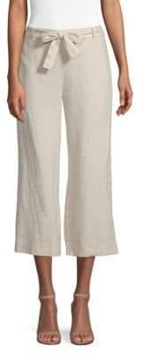 Donna Karan Pull-On Cropped Pants
