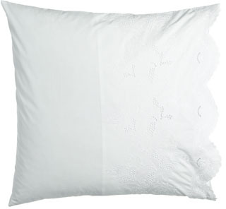 "C & F Enterprises Inc Ruffle Pillow, 16""Sq."