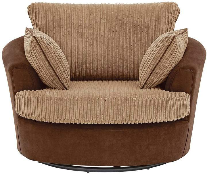 Delta Fabric Swivel Chair