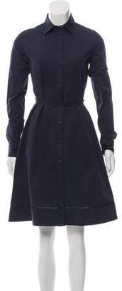 Calvin Klein Collection Knee-Length Button-Up Dress