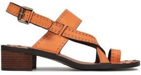 See by Chloe Embossed Leather Sandals