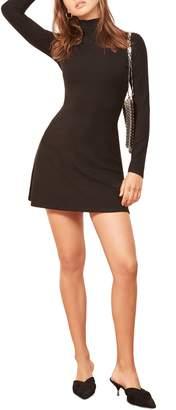 Reformation Maya Turtleneck Body-Con Dress
