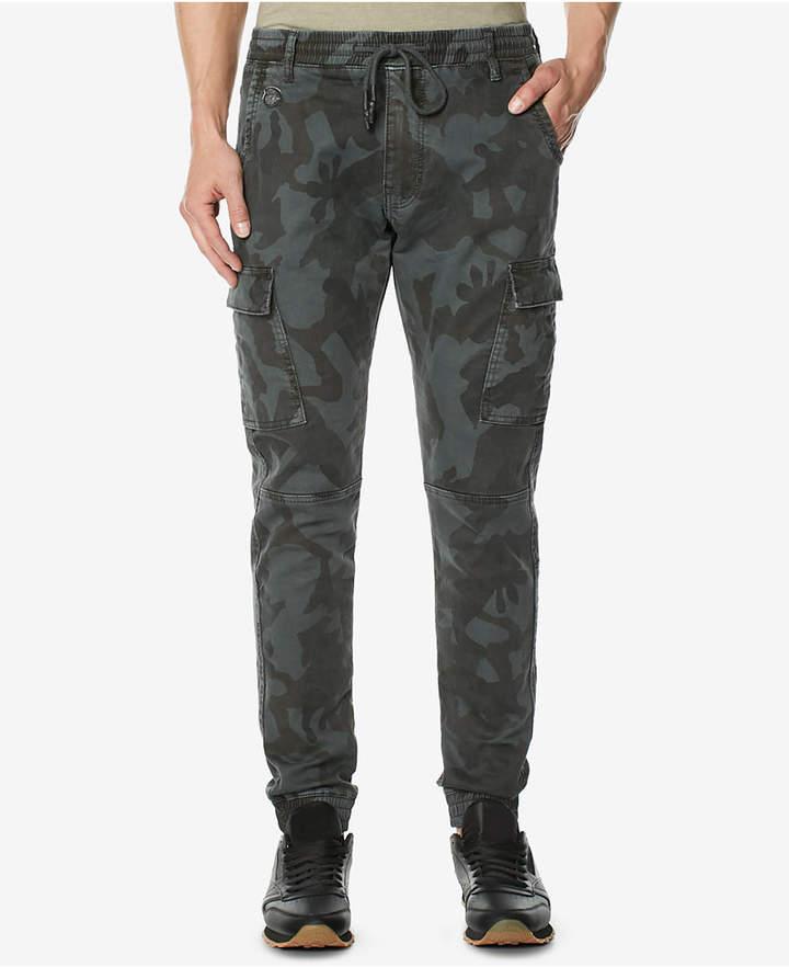 Buffalo David Bitton Men's Zoltan-x Camo Stretch Cargo Pants