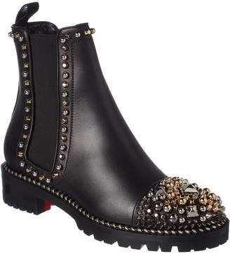 Christian Louboutin Chasse A Clou Leather Boot