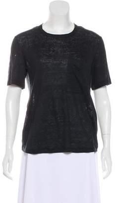 A.L.C. Linen Short Sleeve T-Shirt w/ Tags
