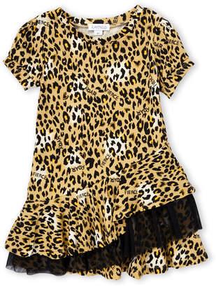 Flapdoodles Toddler Girls) Leopard Print Dress