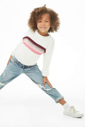 Forever 21 Girls Striped Sweater (Kids)