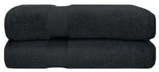 Superior 100% Zero Twist Cotton Super Soft And Absorbent 2-Piece Bath Sheet Towel Set