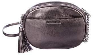 MICHAEL Michael Kors Embellished Leather Messenger Bag