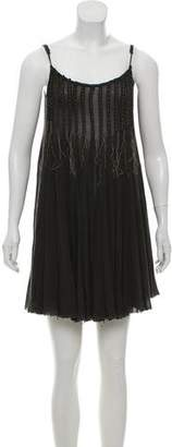 AllSaints Sleeveless Pleated Dress
