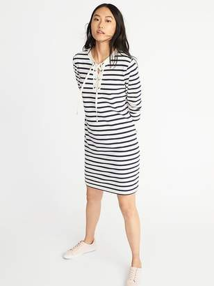 Old Navy Lace-Yoke French-Terry Dress for Women