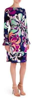 Emilio Pucci Aruba Ruffle Dress