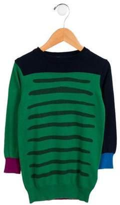 Stella McCartney Girls' Knit Colorblock Sweater