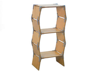 "Modos Furniture Wooden Shelf ""2 Cell"""