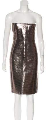 DSQUARED2 Metallic Mini Dress