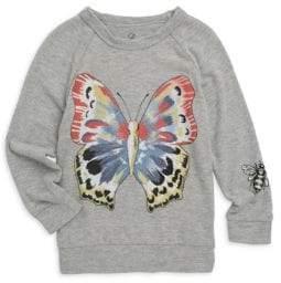 Lauren Moshi Little Girl's Butterfly Pullover