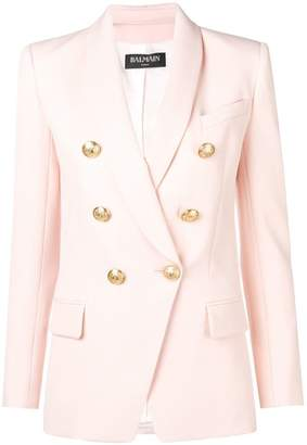 Balmain tailored double breasted blazer