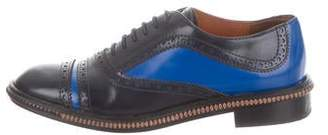 Marc by Marc Jacobs Leather Round-Toe Oxfords