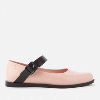 Melissa Women's Mary Jane Flat Shoes - Blush Contrast