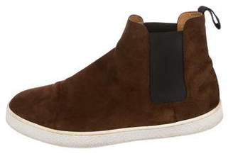 John Lobb Leather Chelsea Sneakers